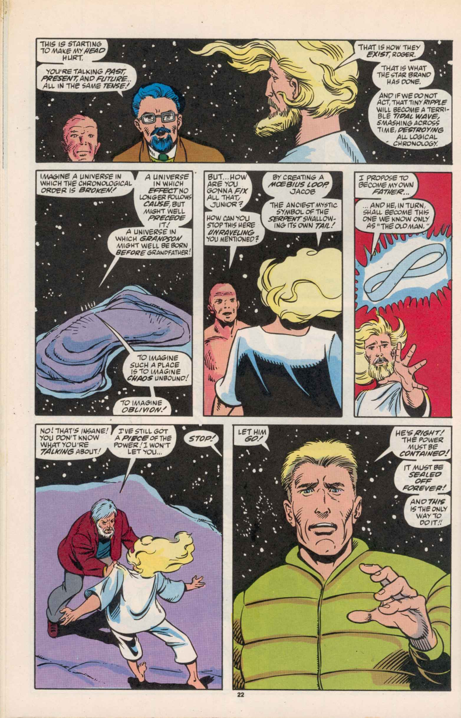 Read online Star Brand comic -  Issue #19 - 24