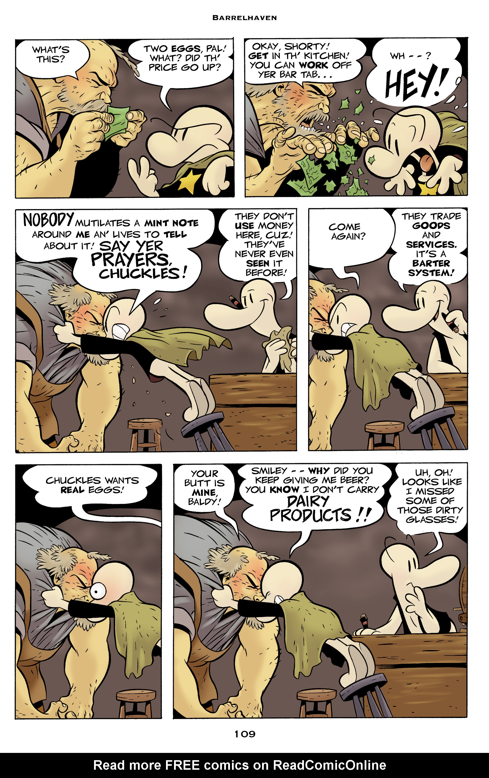 Read online Bone: Out From Boneville comic -  Issue # TPB - 109