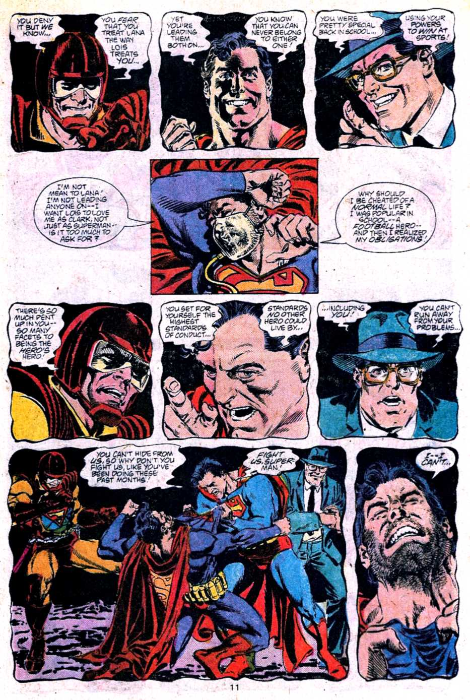 Read online Adventures of Superman (1987) comic -  Issue #453 - 11
