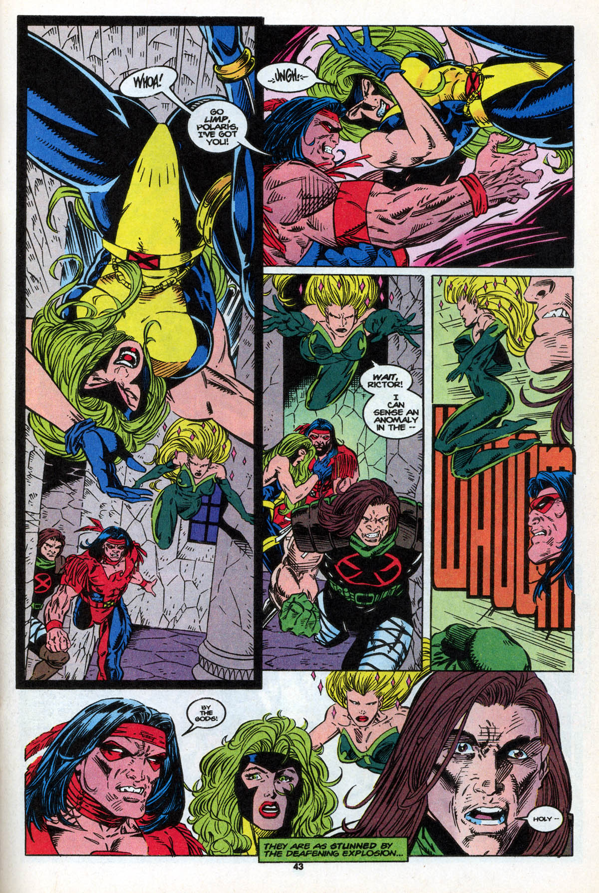 Read online X-Factor (1986) comic -  Issue #106 - 43