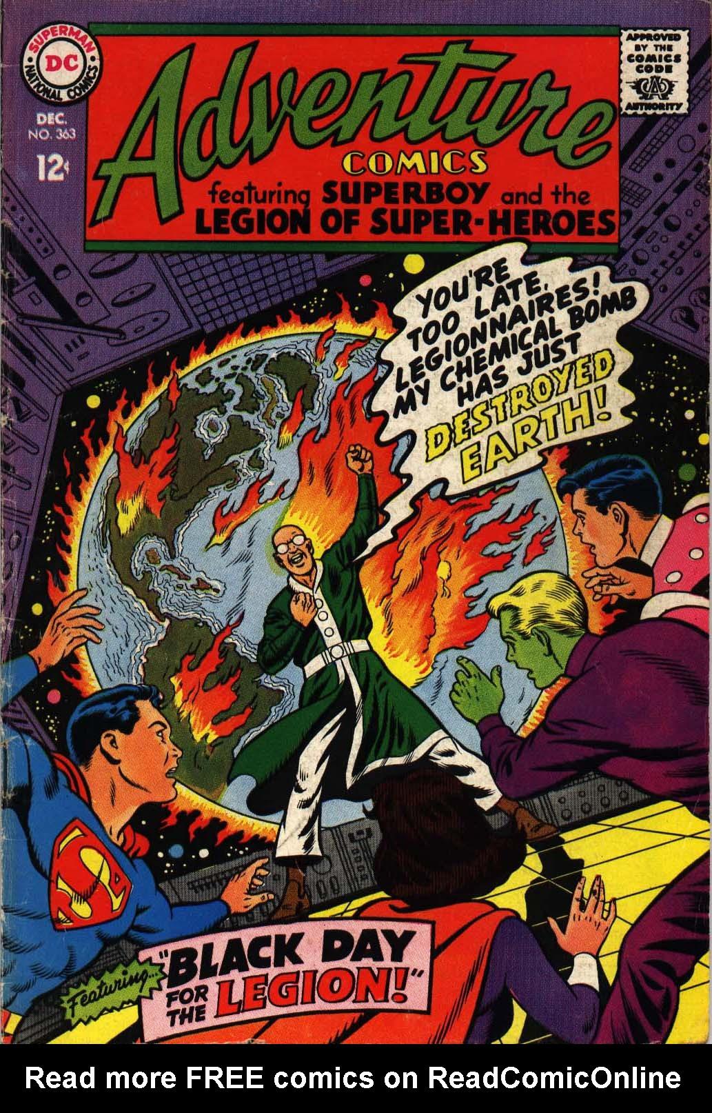 Read online Adventure Comics (1938) comic -  Issue #363 - 1