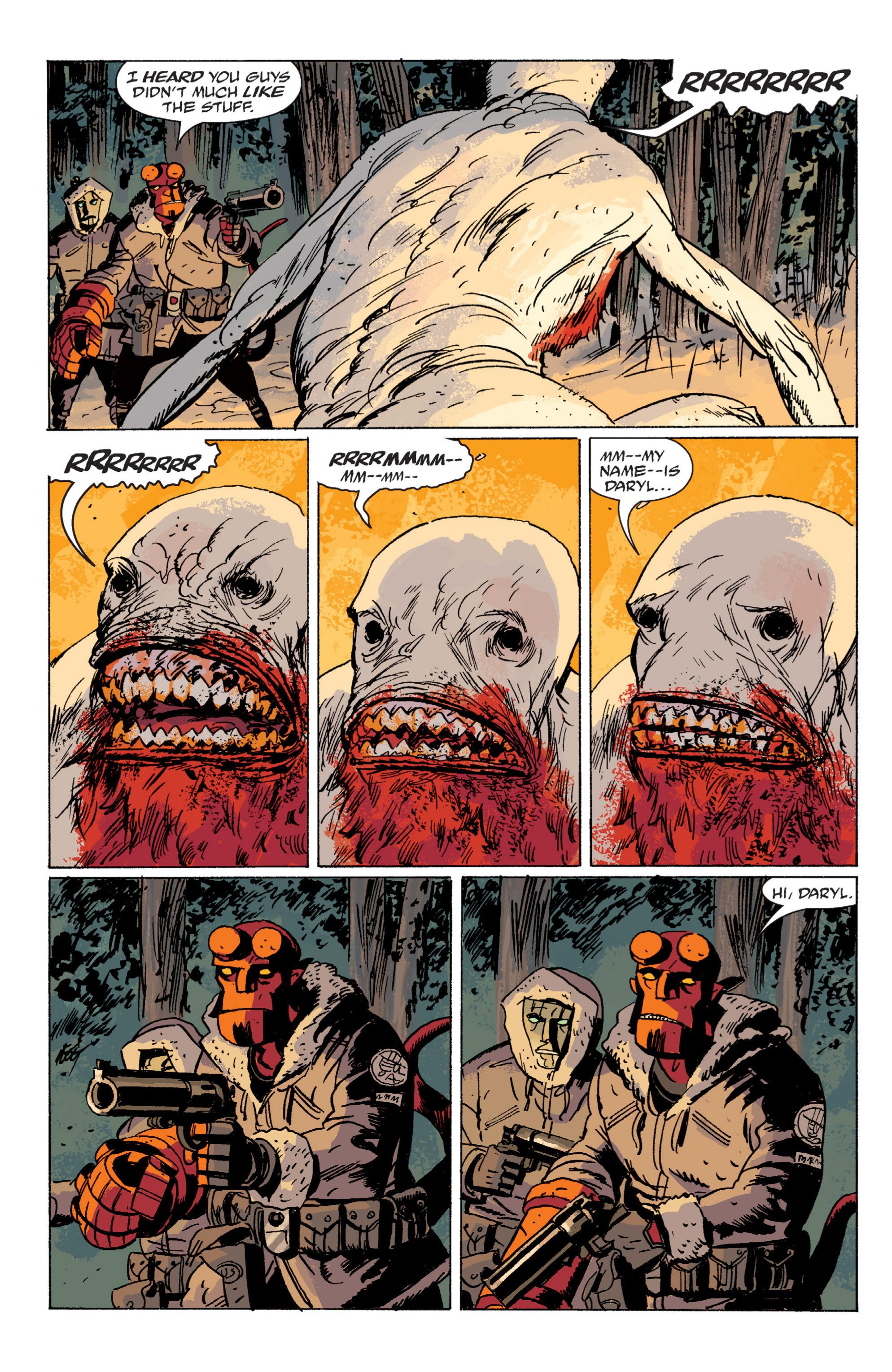 Read online B.P.R.D. (2003) comic -  Issue # TPB 6 - 103