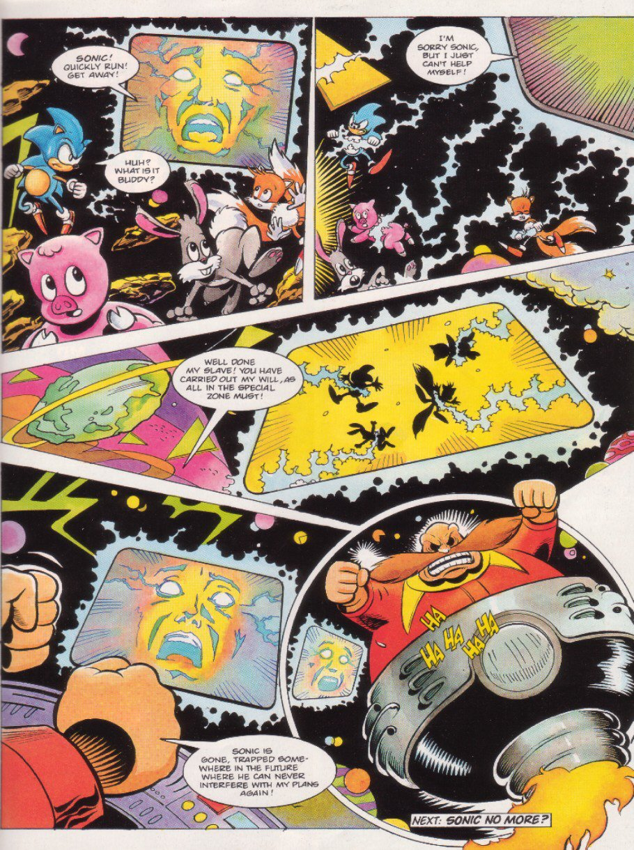 Read online Sonic the Comic comic -  Issue #8 - 9