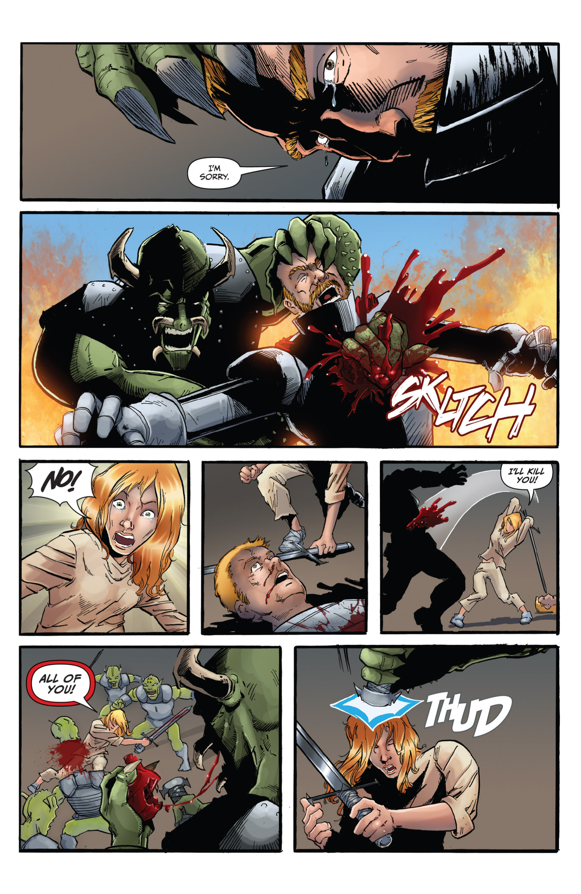 Read online Grimm Fairy Tales presents Grimm Universe comic -  Issue # TPB - 115