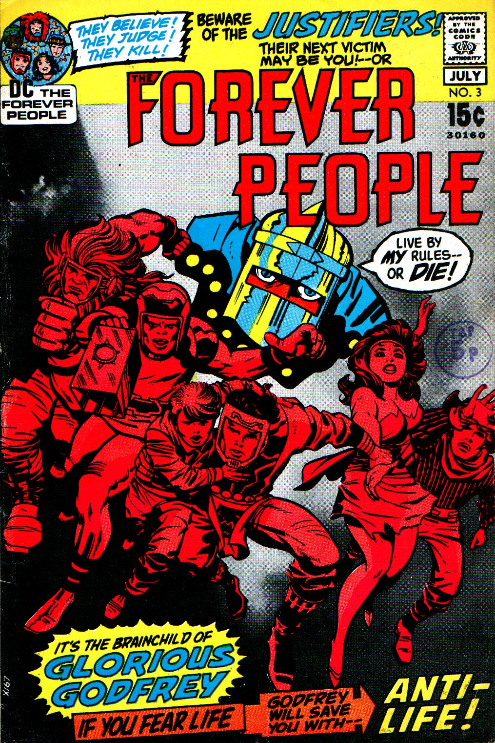 Forever People (1971) issue 3 - Page 1
