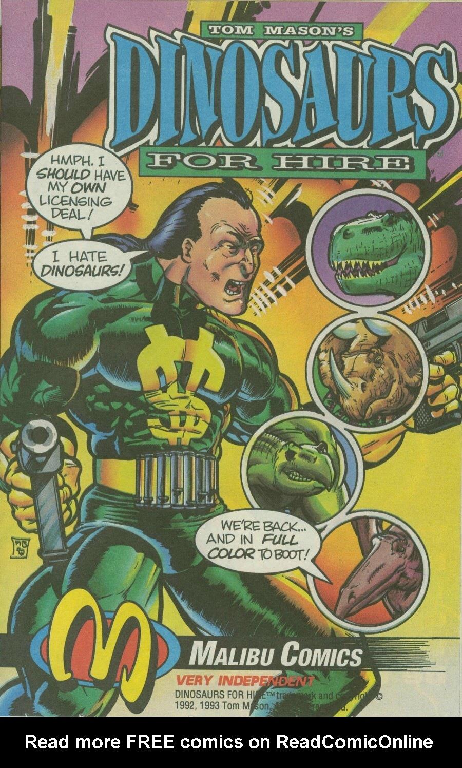 Read online Ex-Mutants comic -  Issue #8 - 20