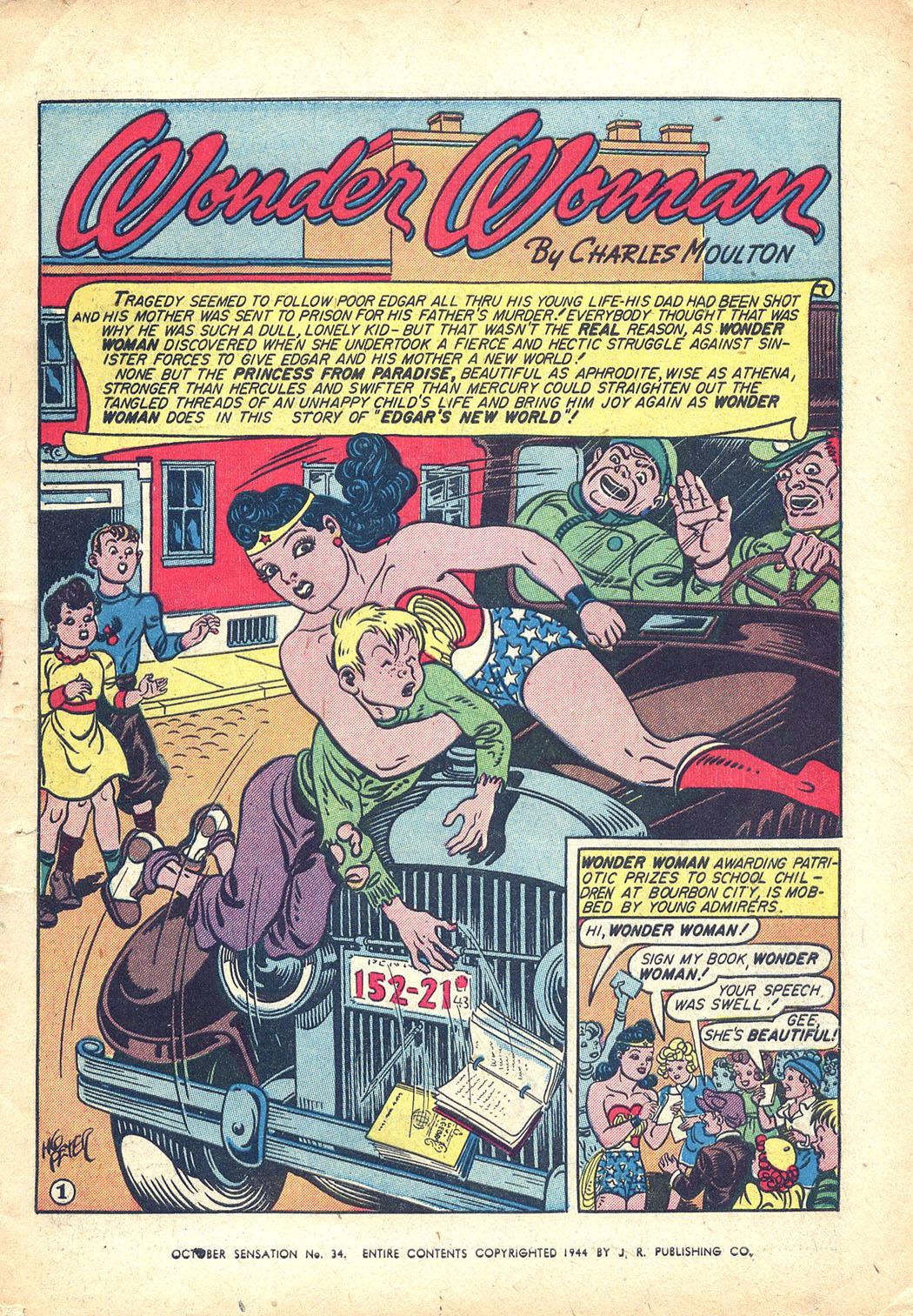 Read online Sensation (Mystery) Comics comic -  Issue #34 - 3