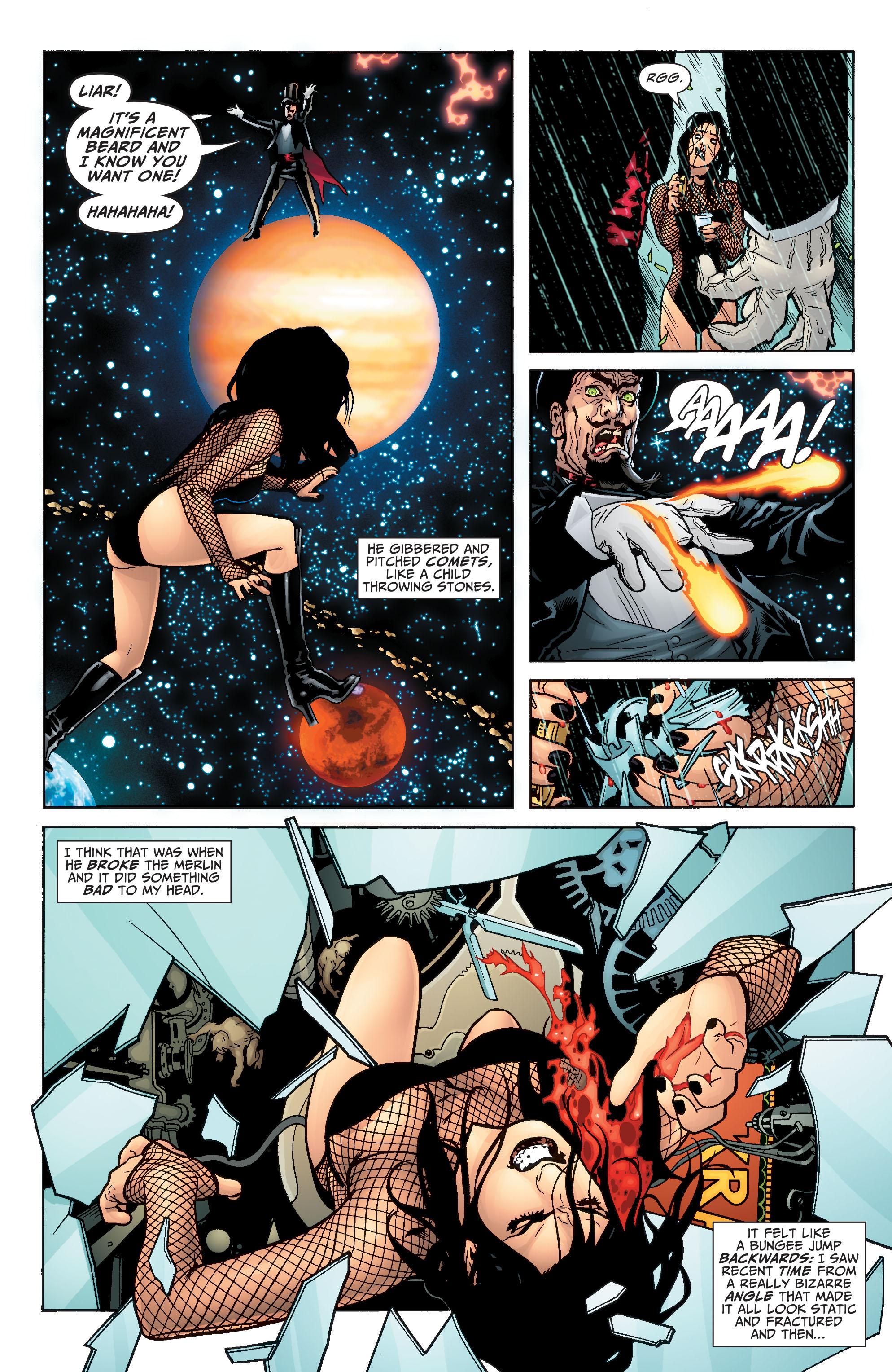 Read online Seven Soldiers: Zatanna comic -  Issue #4 - 13