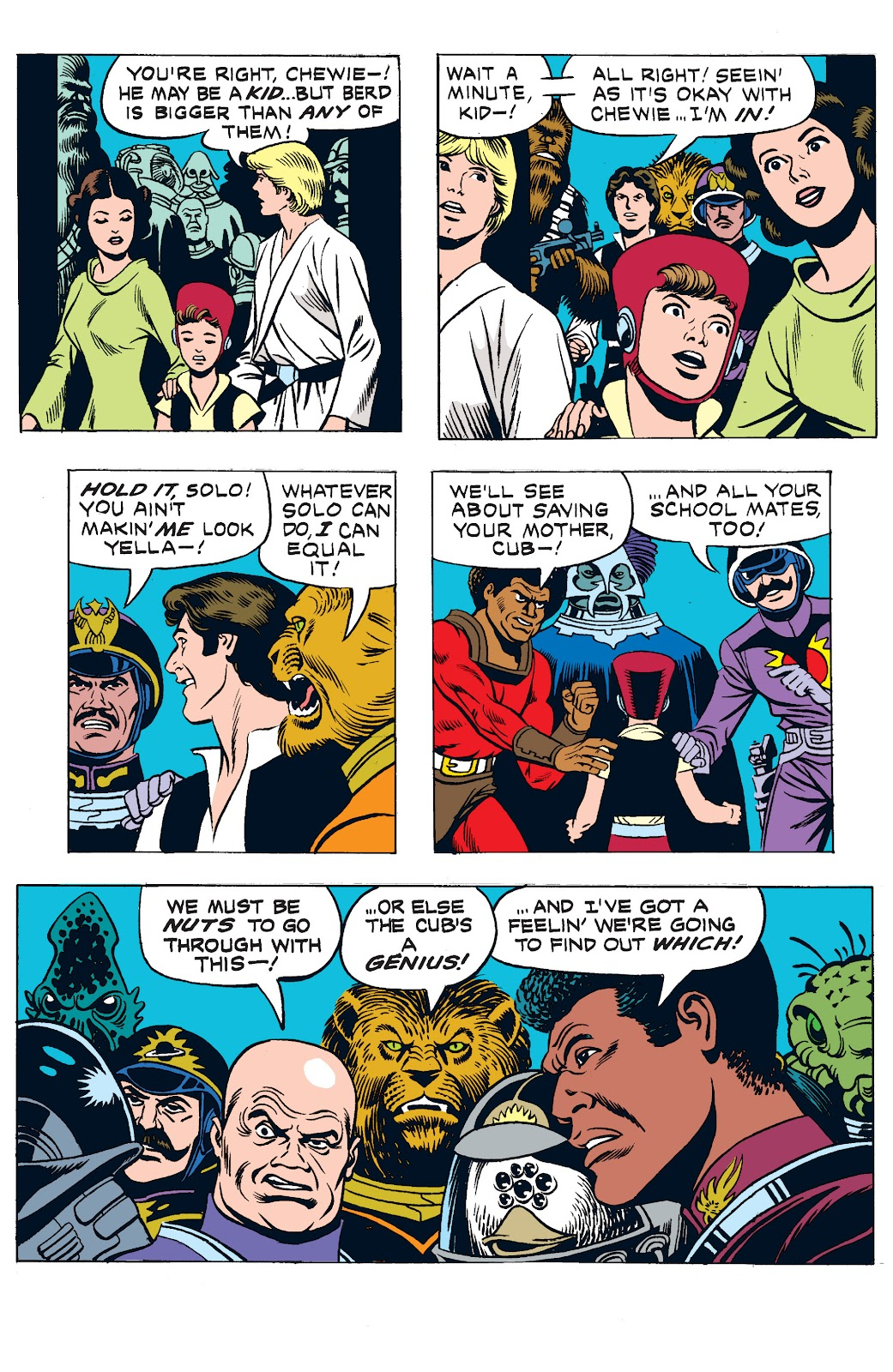 Read online Star Wars Legends: The Newspaper Strips - Epic Collection comic -  Issue # TPB (Part 3) - 12