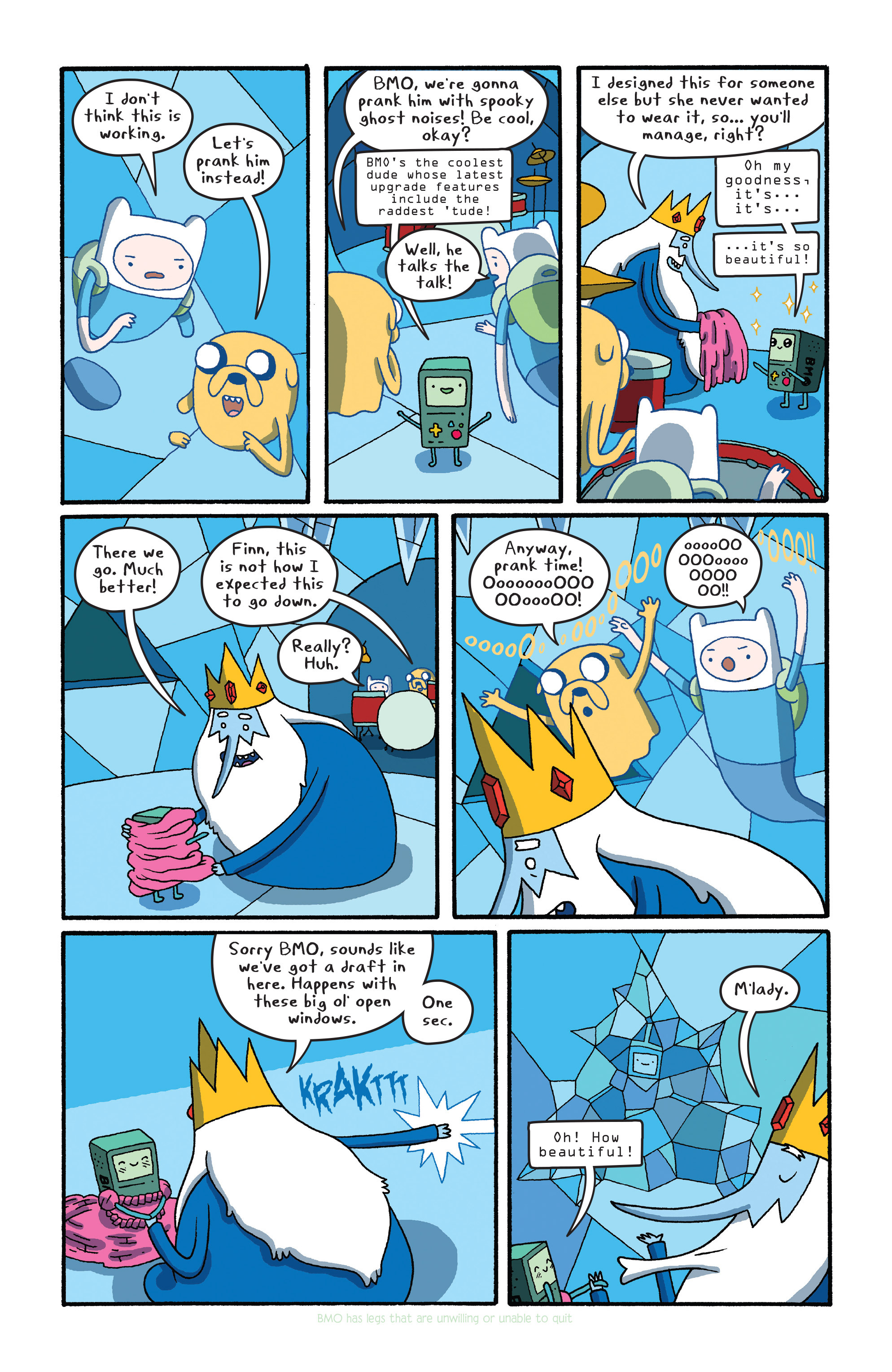 Read online Adventure Time comic -  Issue #27 - 8