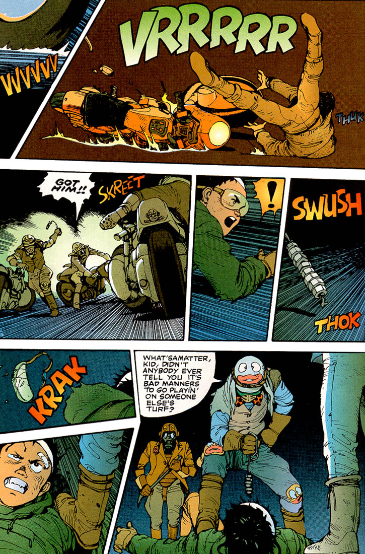 Read online Akira comic -  Issue #3 - 10