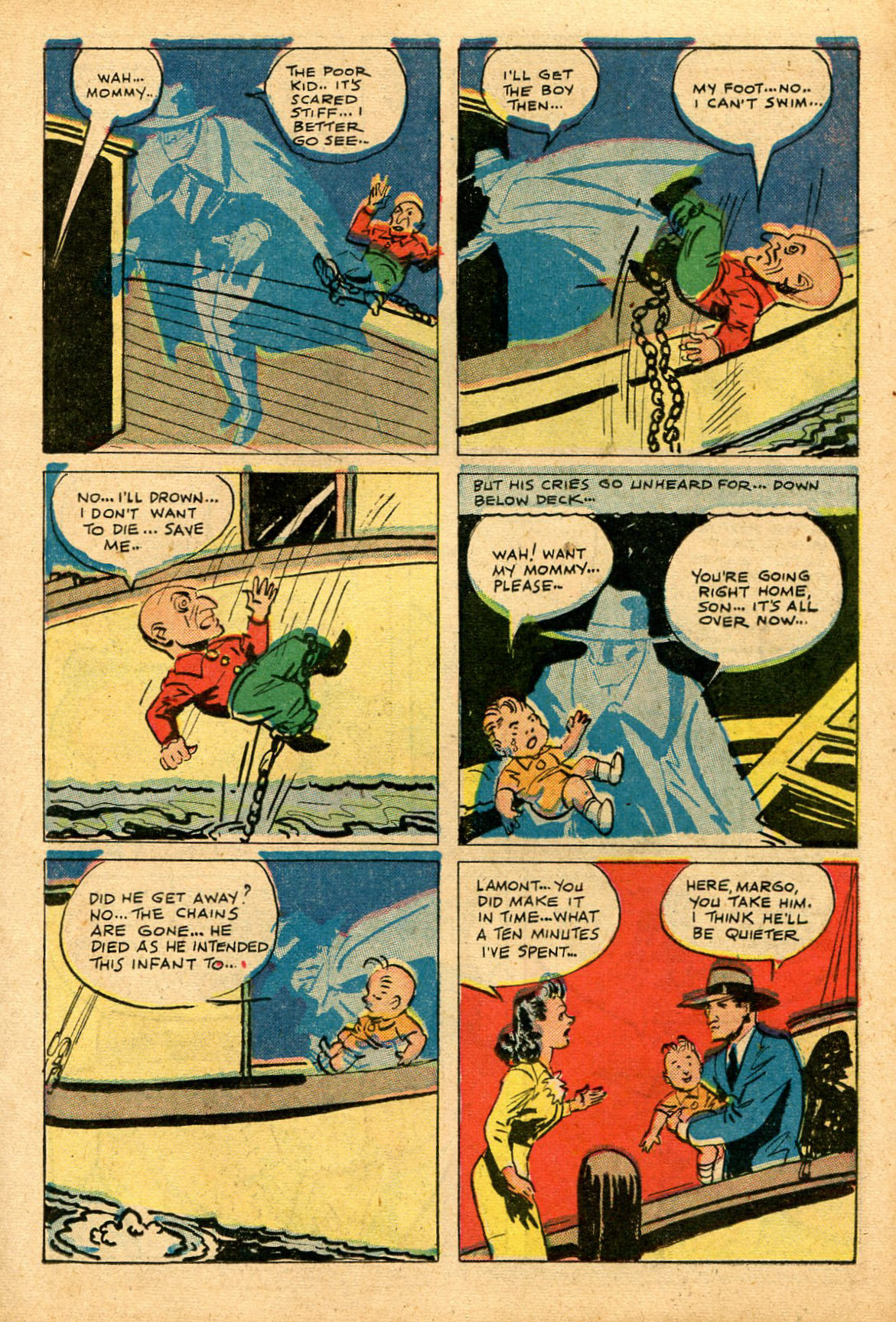 Read online Shadow Comics comic -  Issue #69 - 15