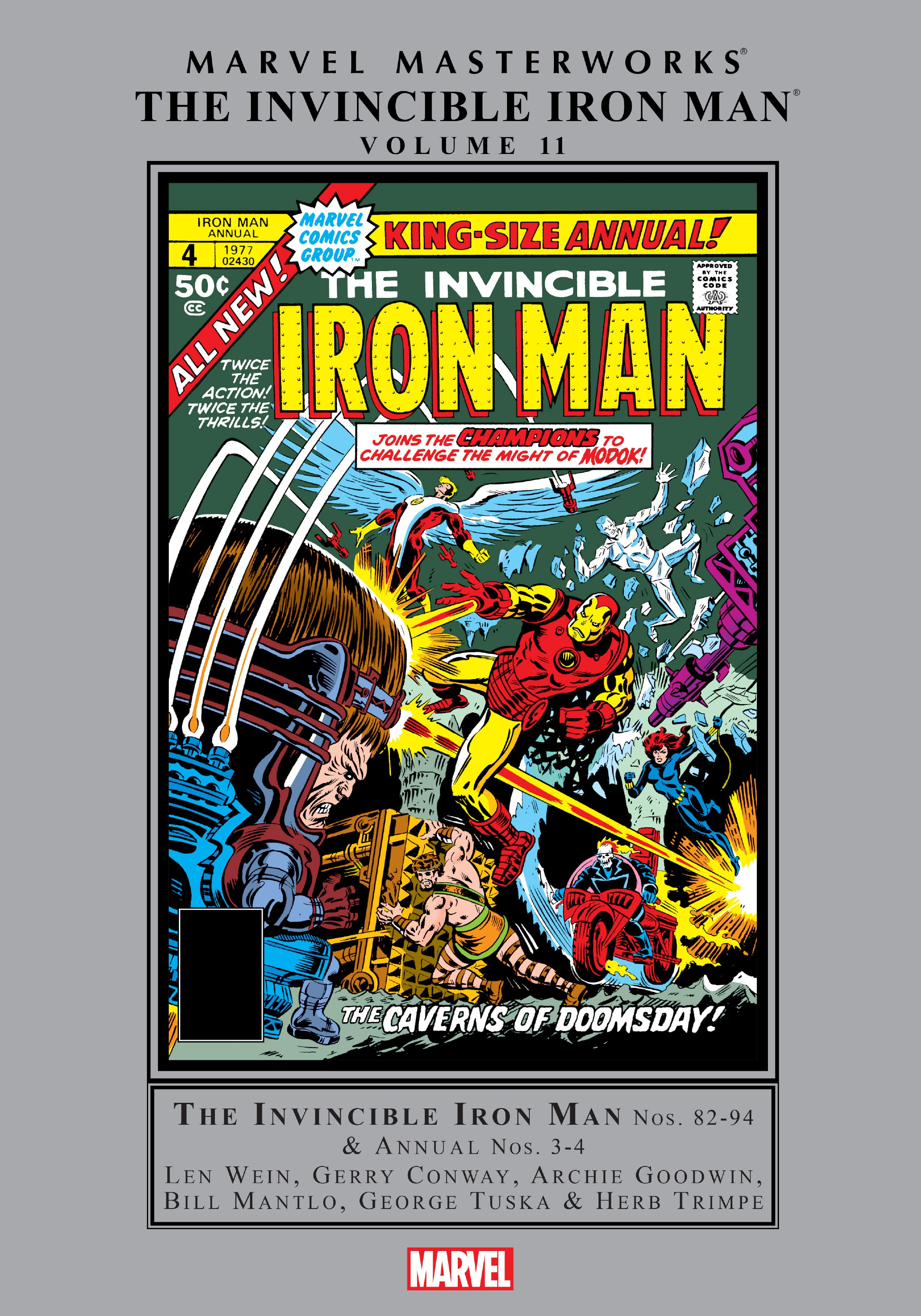 Marvel Masterworks: The Invincible Iron Man TPB-11-Part-1 Page 1