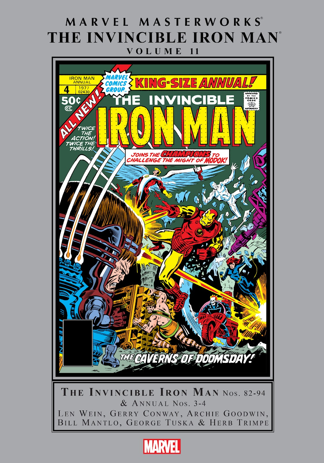 Read online Marvel Masterworks: The Invincible Iron Man comic -  Issue # TPB 11 (Part 1) - 1