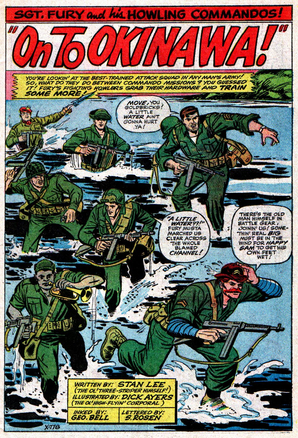 Read online Sgt. Fury comic -  Issue #10 - 3