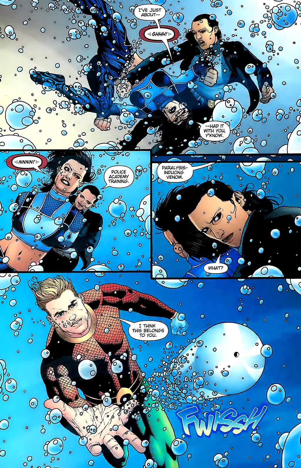 Read online Aquaman (2003) comic -  Issue #31 - 20