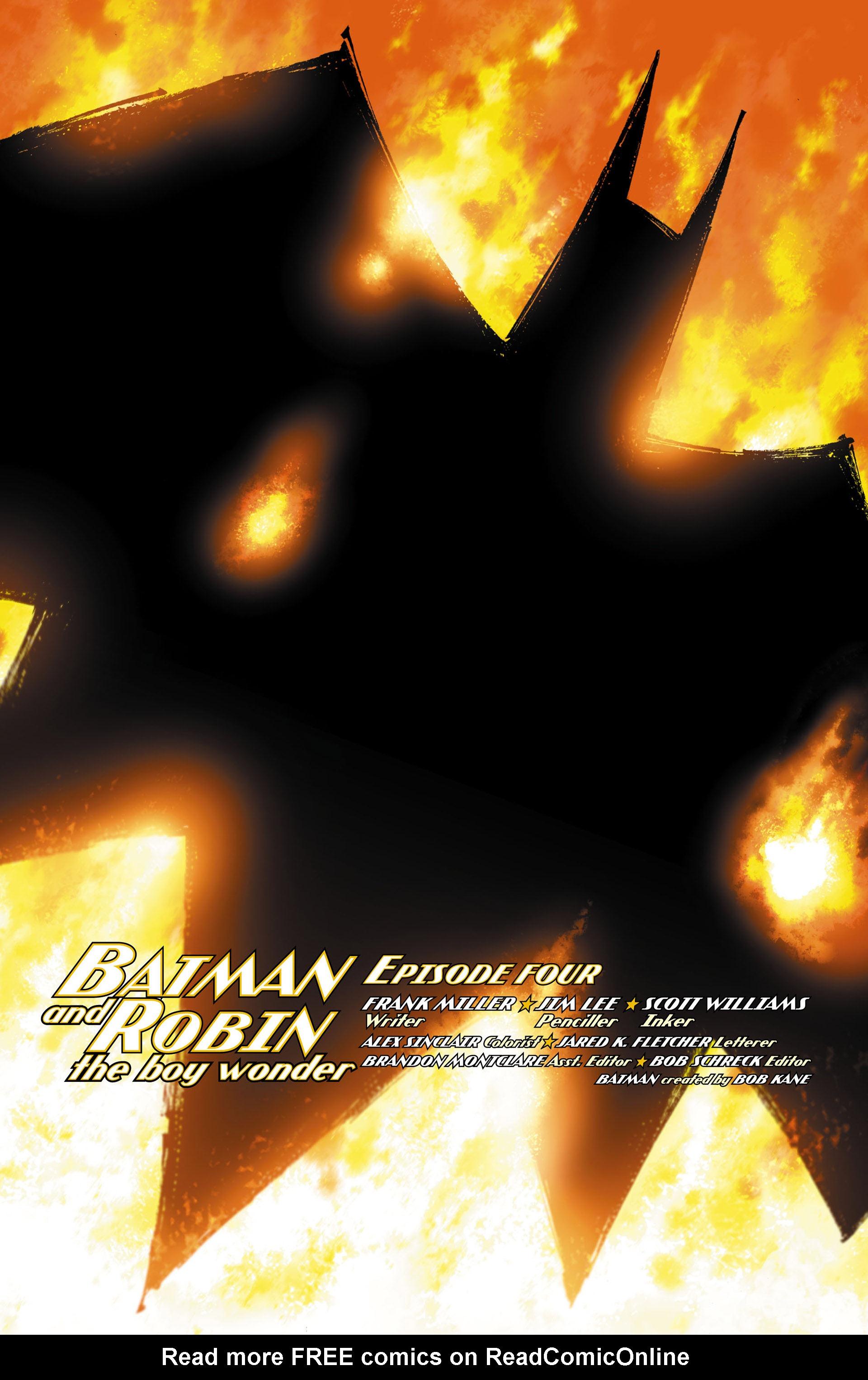Read online All Star Batman & Robin, The Boy Wonder comic -  Issue #4 - 3