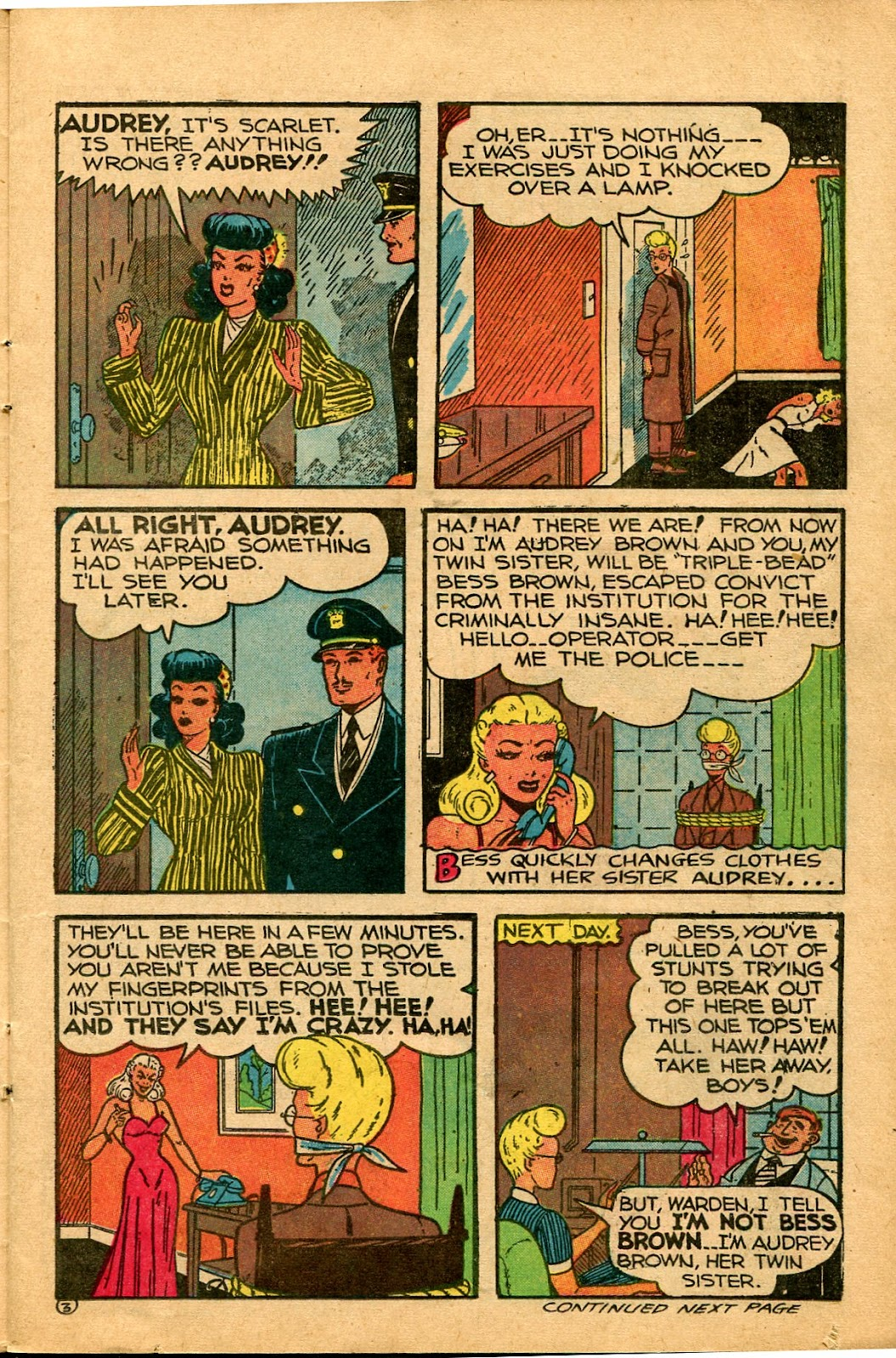 Read online Famous Funnies comic -  Issue #136 - 11