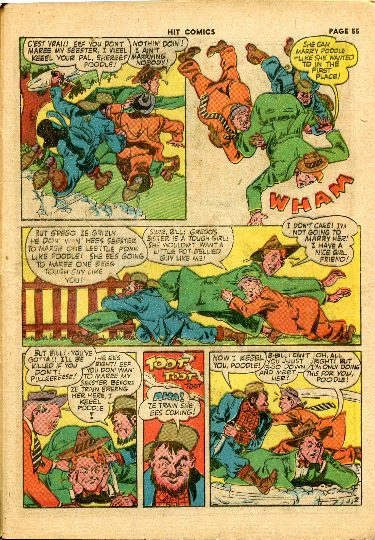 Read online Hit Comics comic -  Issue #28 - 58