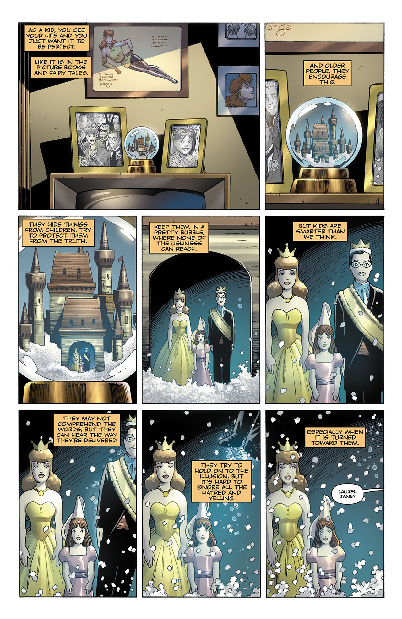 Before Watchmen Silk Spectre Issue 1 | Viewcomic reading ...
