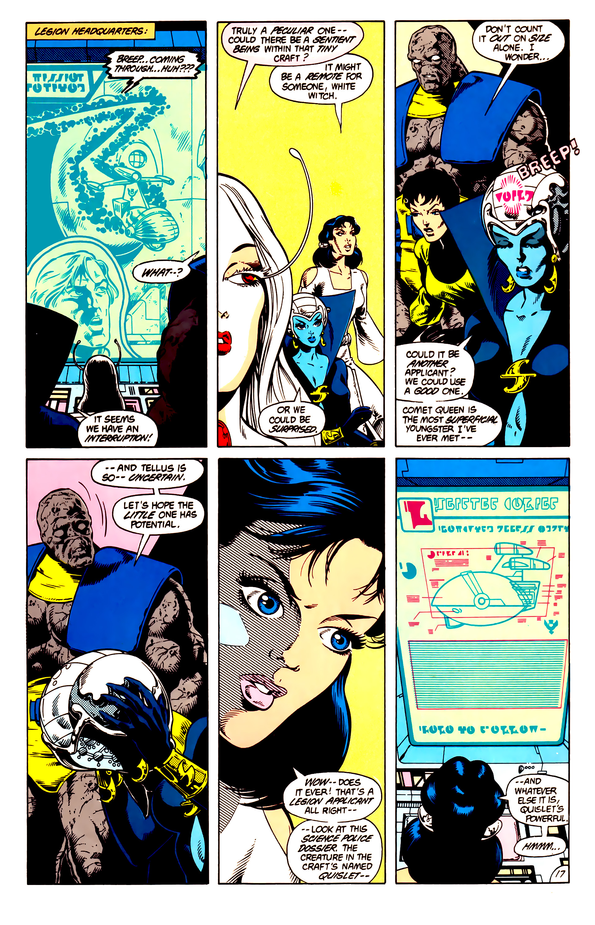 Legion of Super-Heroes (1984) 14 Page 18