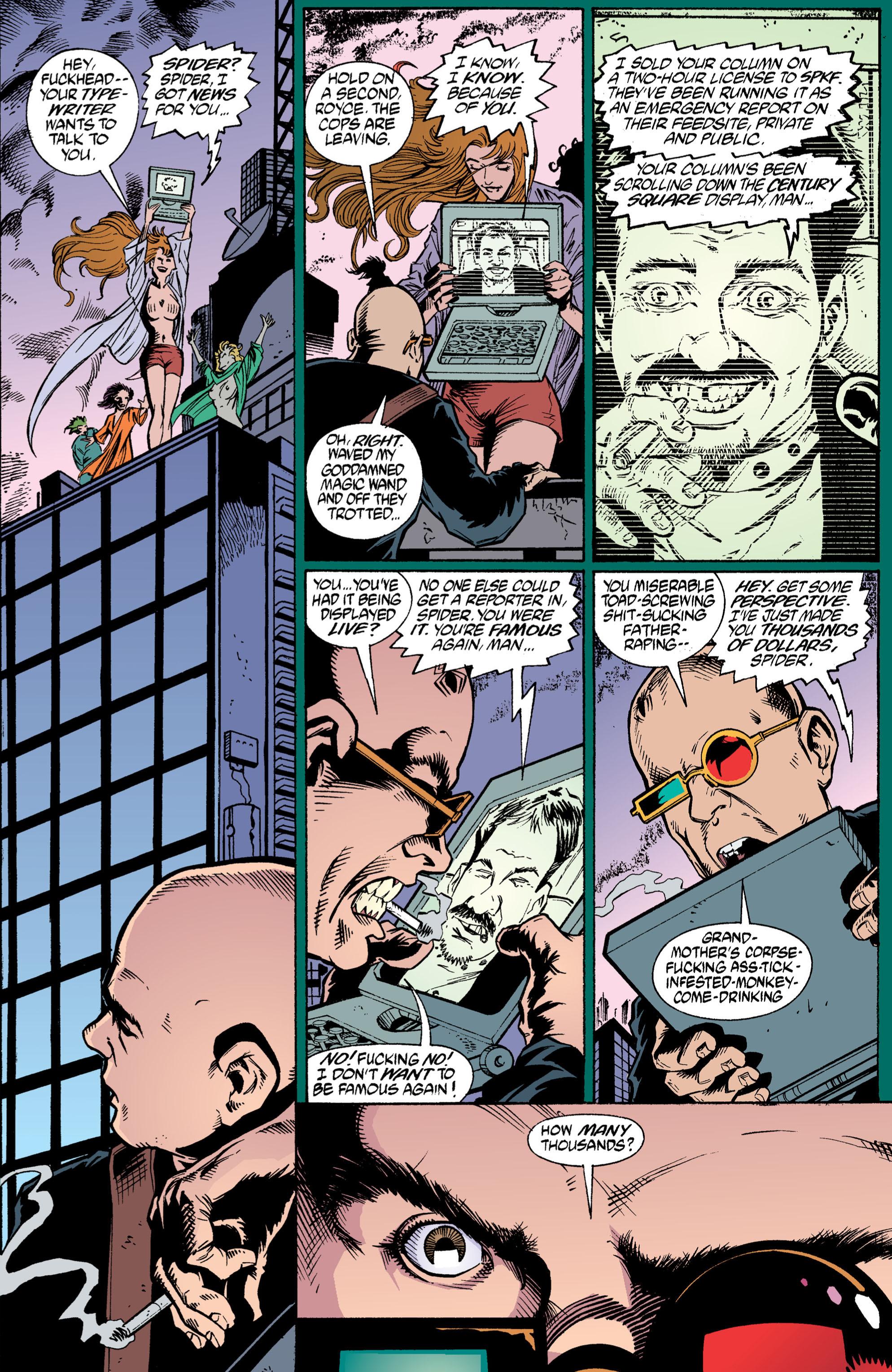 Read online Transmetropolitan comic -  Issue #3 - 18