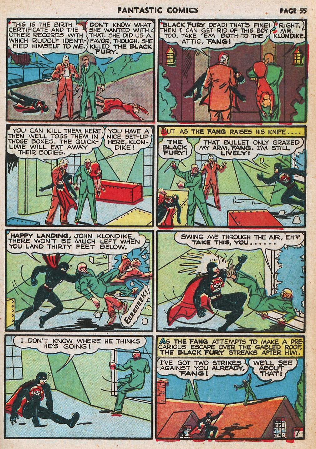 Read online Fantastic Comics comic -  Issue #20 - 55