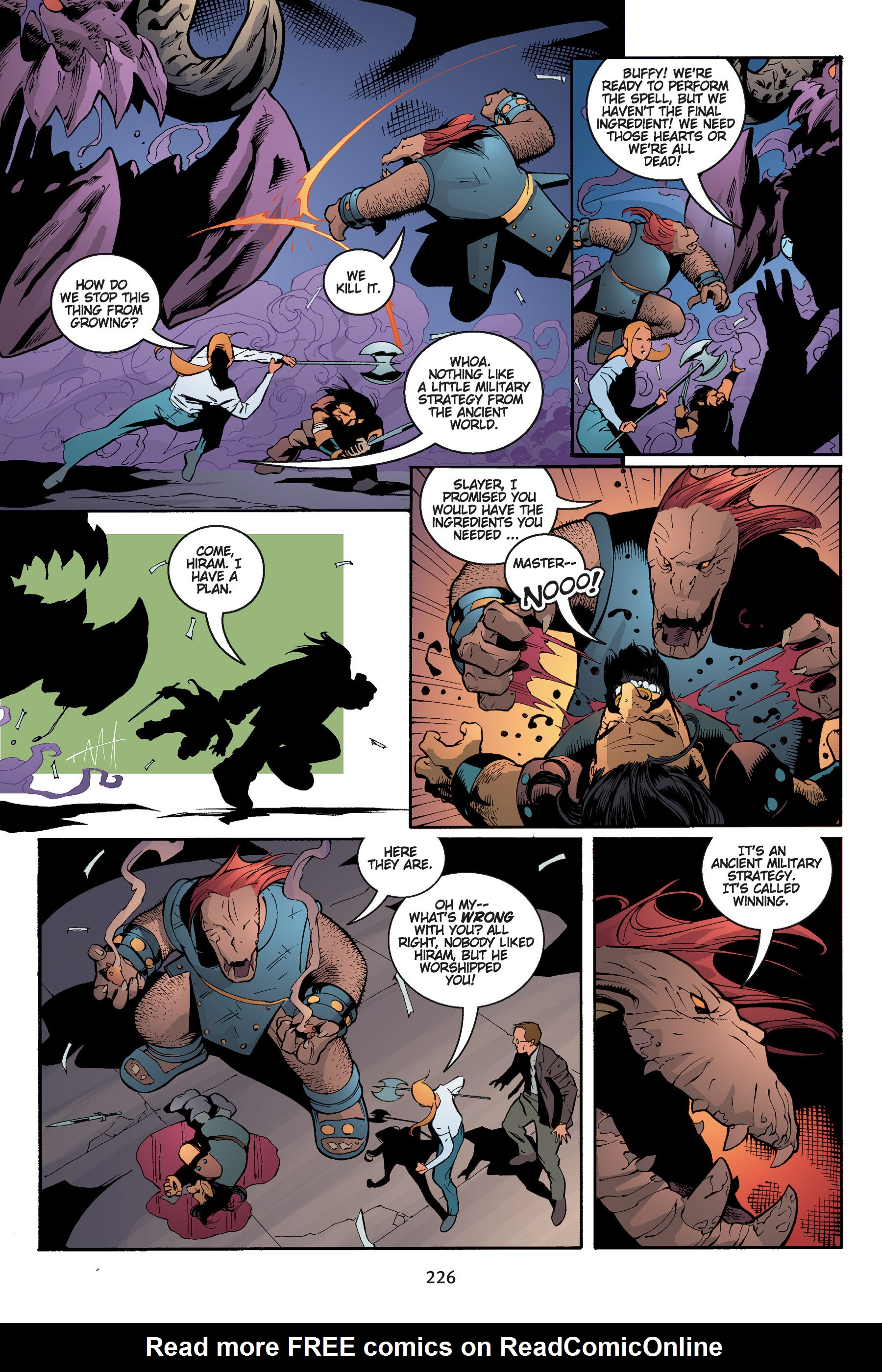 Read online Buffy the Vampire Slayer: Omnibus comic -  Issue # TPB 5 - 226