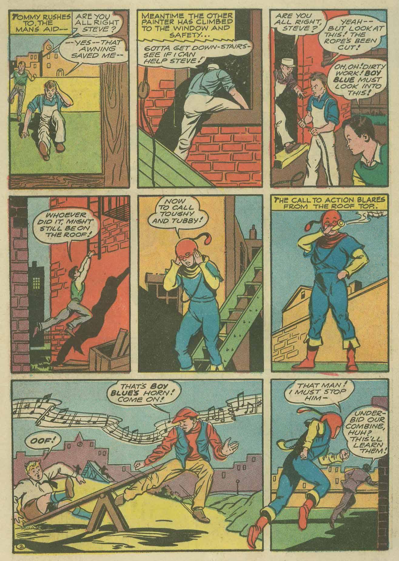 Read online Sensation (Mystery) Comics comic -  Issue #9 - 50
