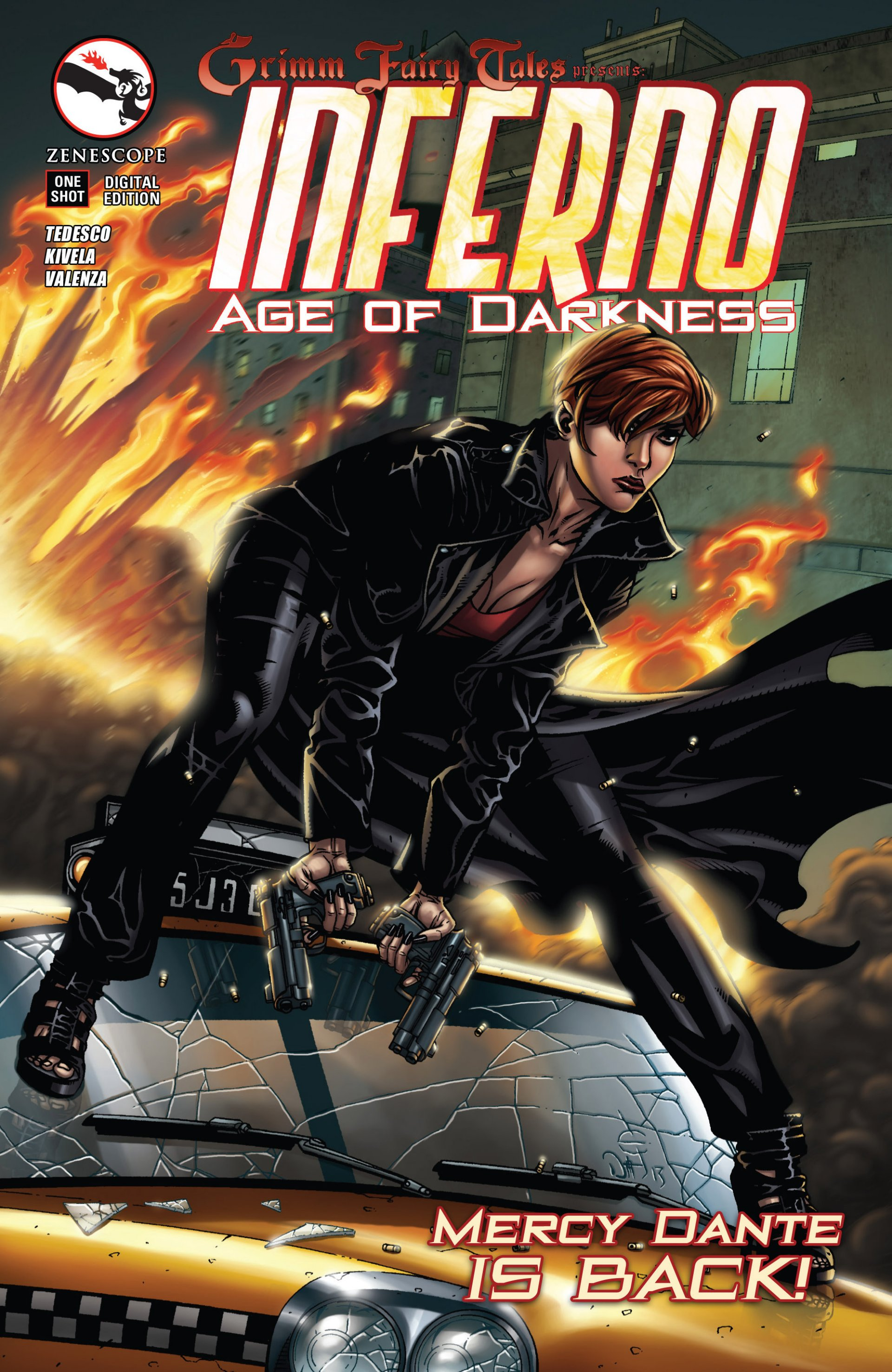 Read online Grimm Fairy Tales presents Inferno: Age of Darkness comic -  Issue # Full - 1