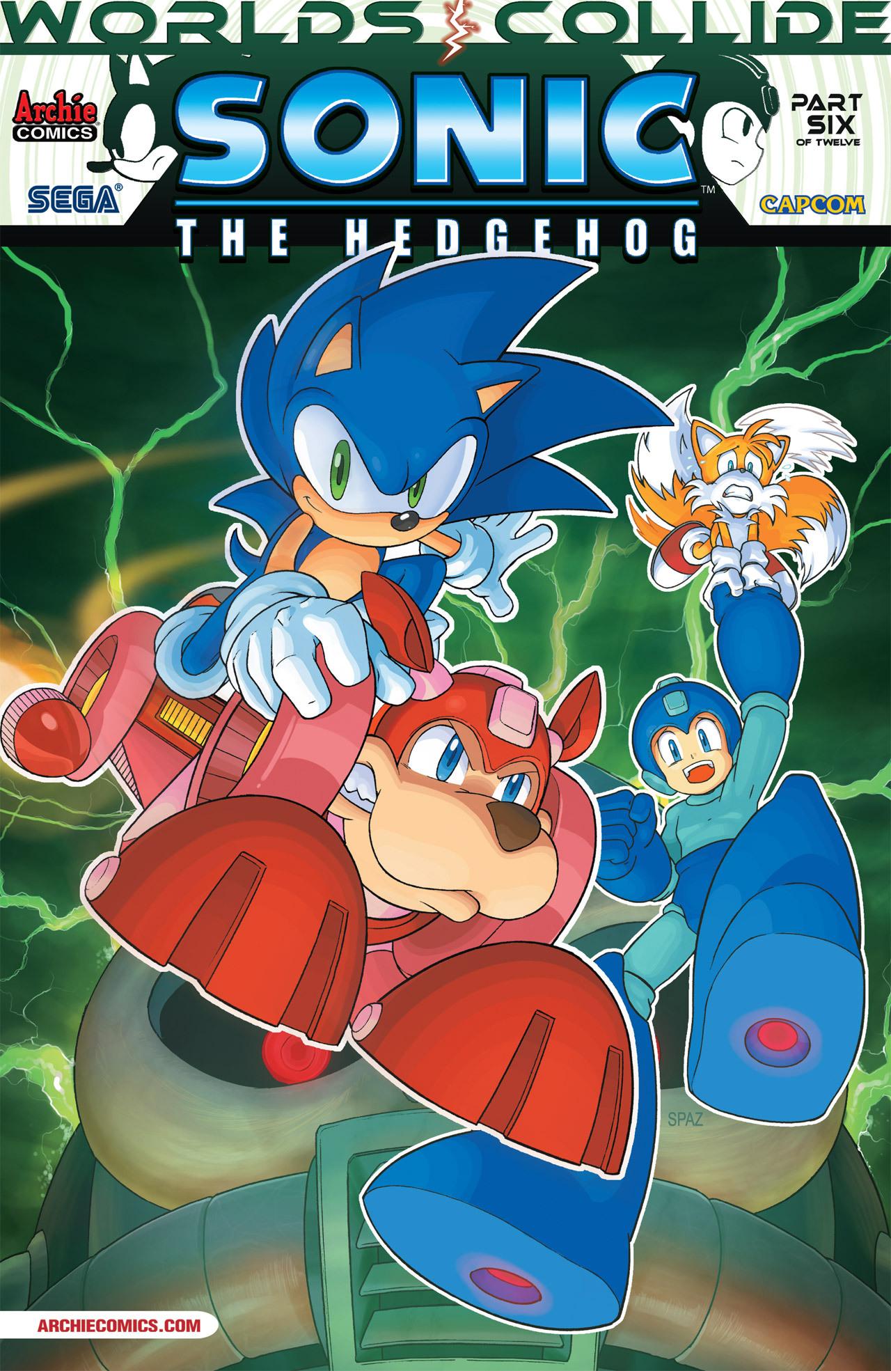 Read online Sonic Mega Man Worlds Collide comic -  Issue # Vol 2 - 33