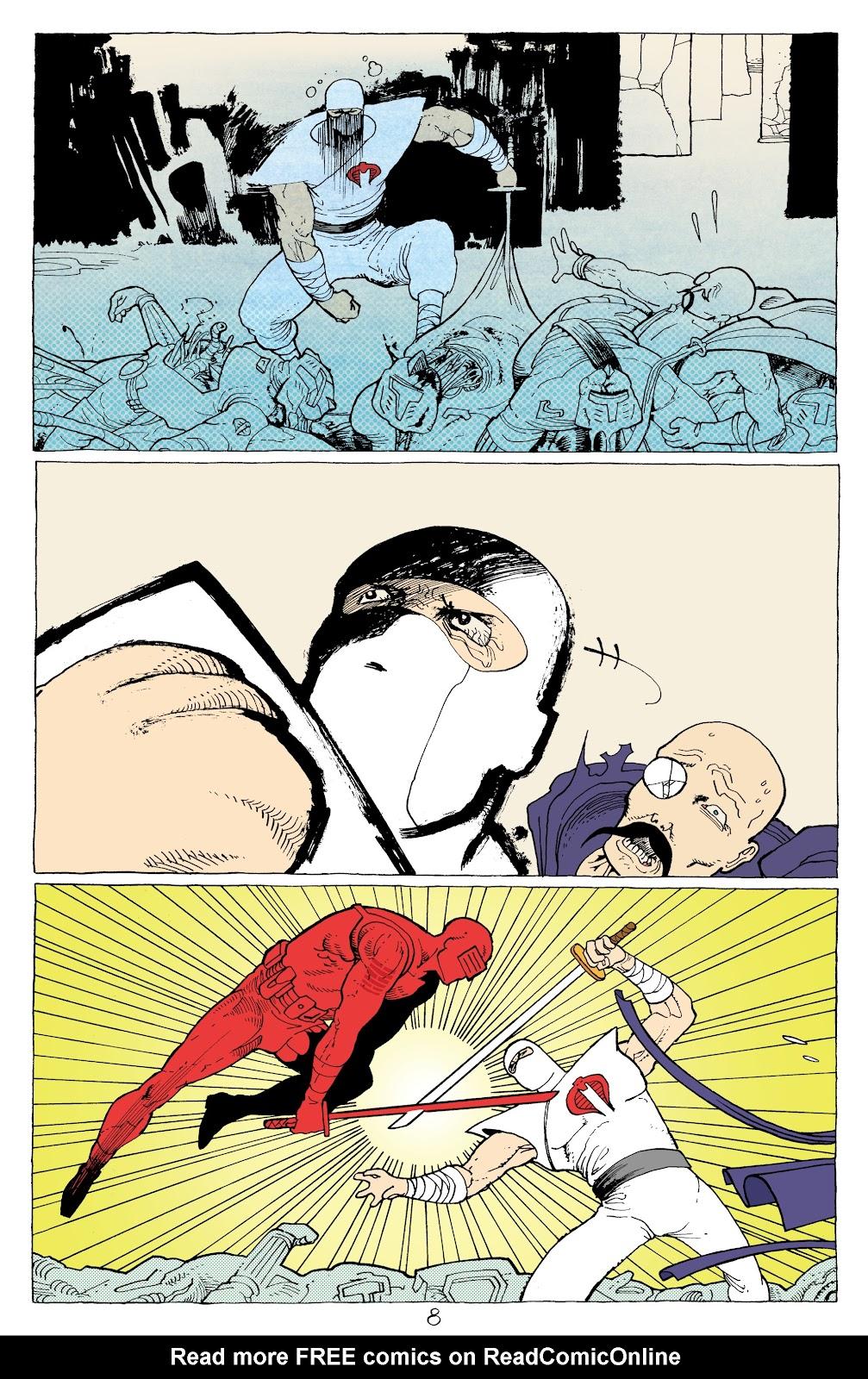 Read online G.I. Joe: Sierra Muerte comic -  Issue #3 - 10