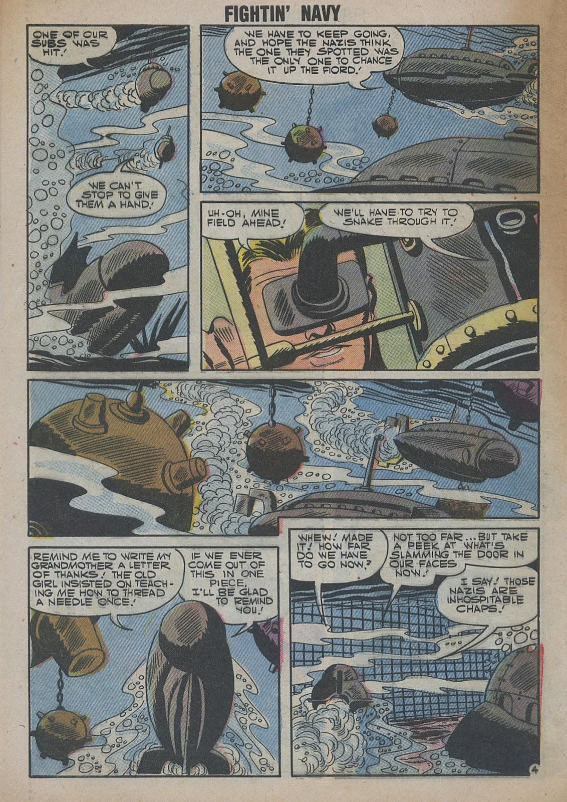 Read online Fightin' Navy comic -  Issue #82 - 62