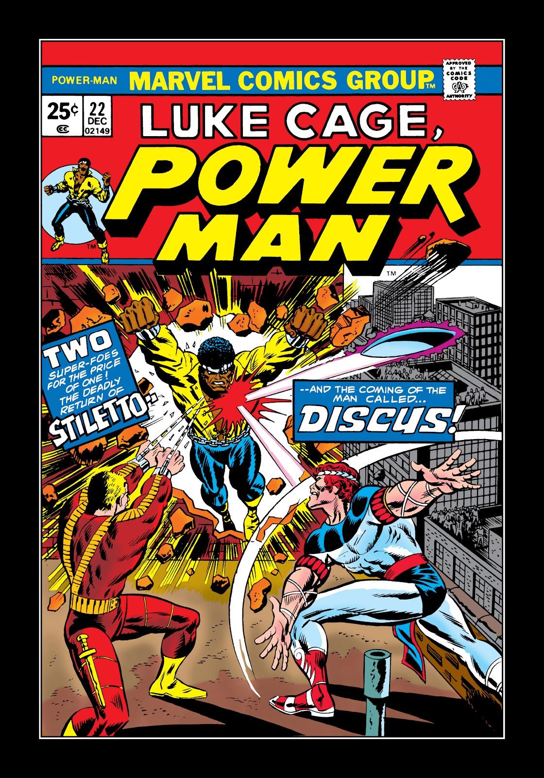 Read online Marvel Masterworks: Luke Cage, Power Man comic -  Issue # TPB 2 (Part 2) - 6