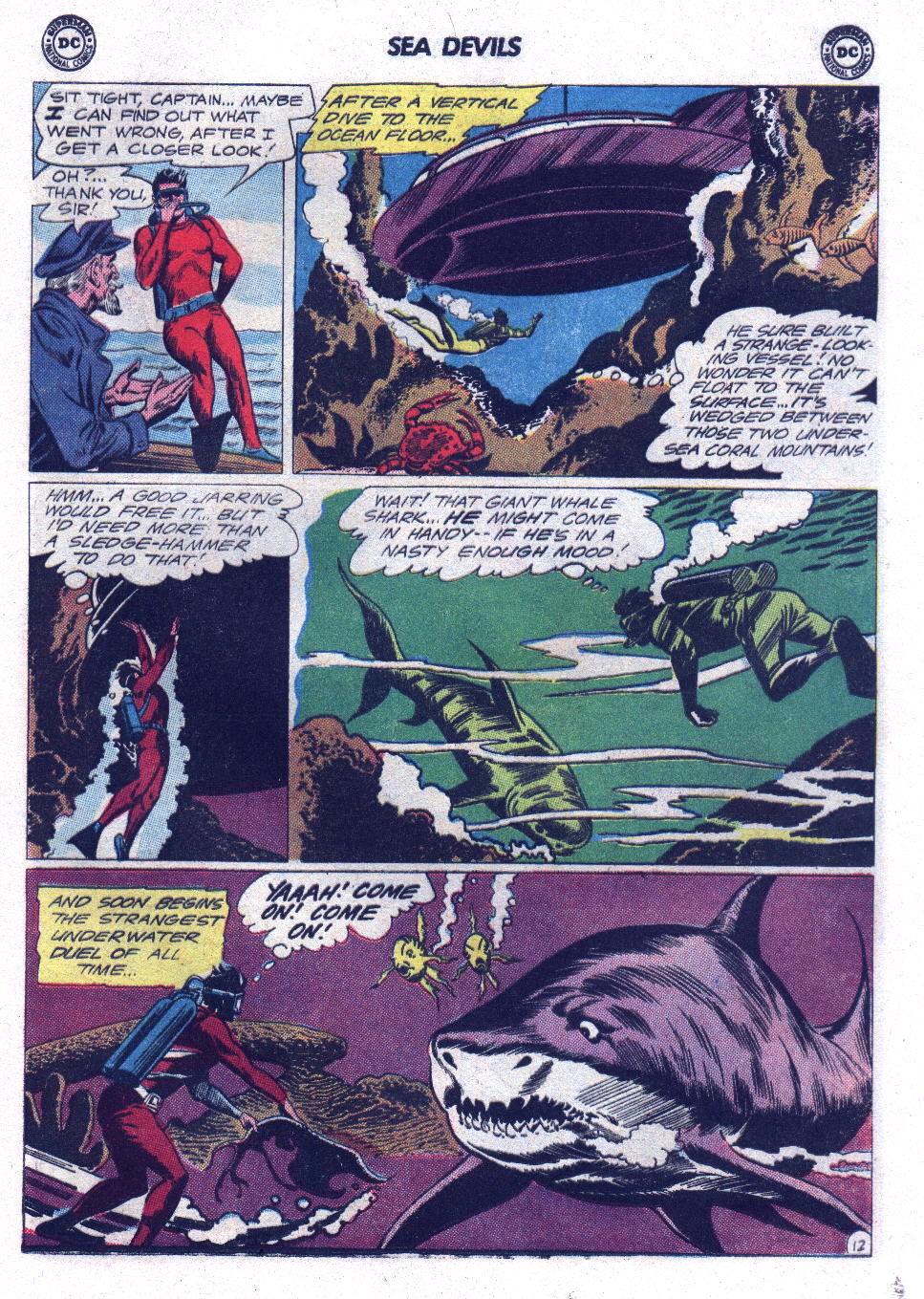 Read online Sea Devils comic -  Issue #17 - 17