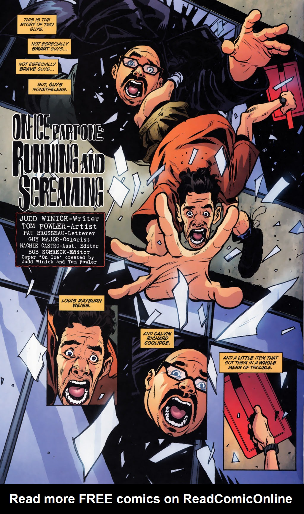 Read online Caper comic -  Issue #9 - 5