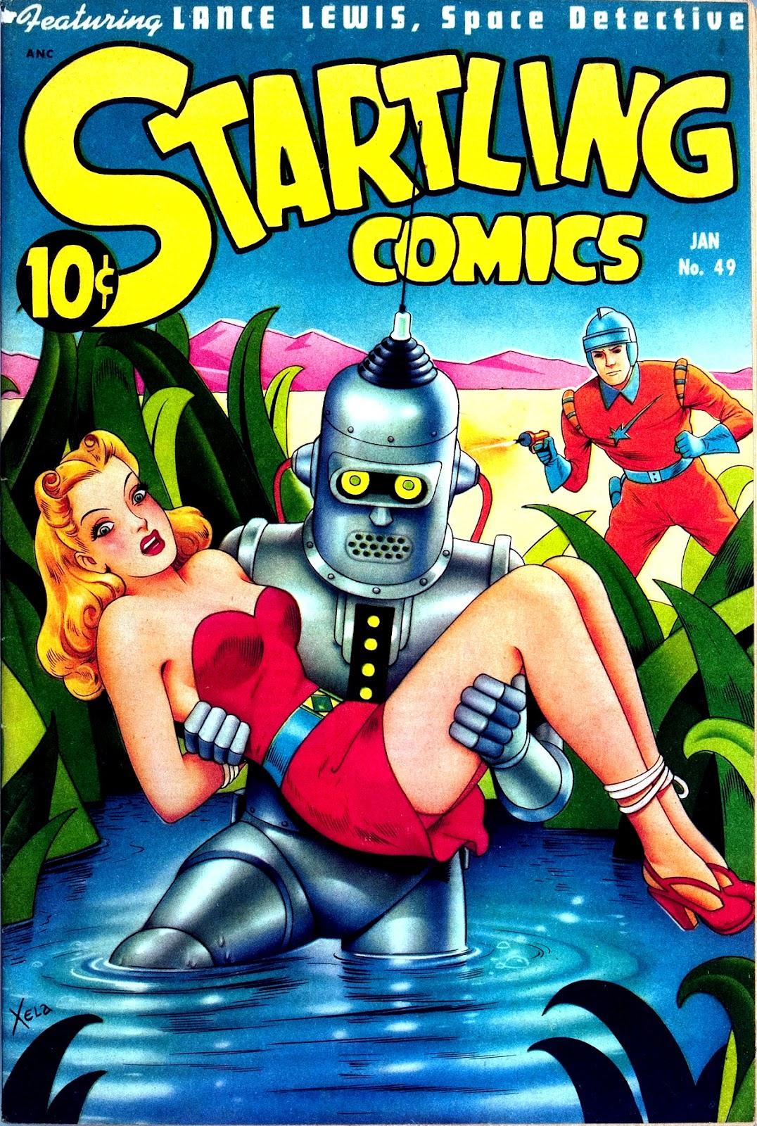 Startling Comics 49 Page 1