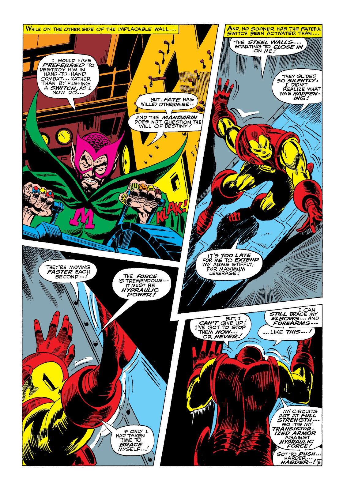 Read online Marvel Masterworks: The Invincible Iron Man comic -  Issue # TPB 4 (Part 1) - 38