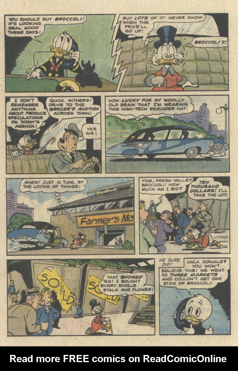 Read online Uncle Scrooge (1953) comic -  Issue #227 - 32
