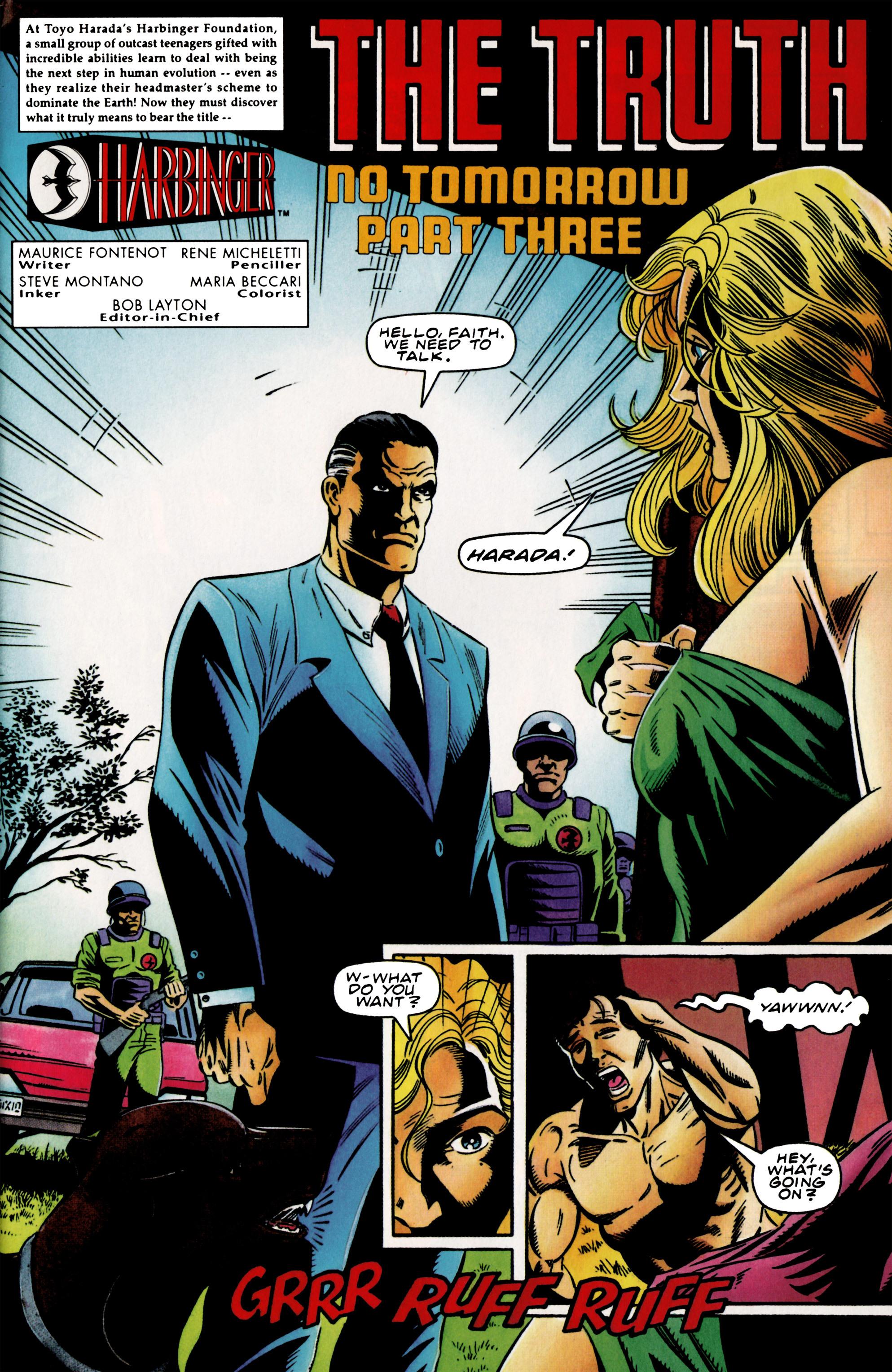 Read online Harbinger (1992) comic -  Issue #37 - 2