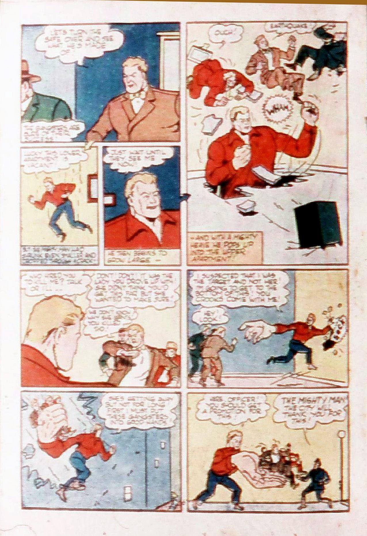 Read online Amazing Man Comics comic -  Issue #20 - 35