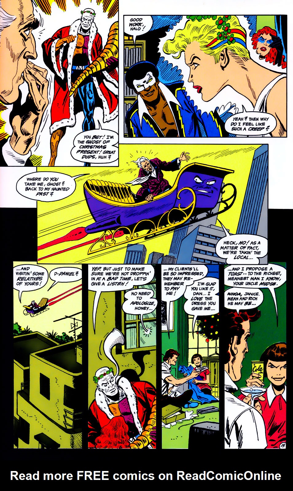 Read online Adventures of the Outsiders comic -  Issue #43 - 16