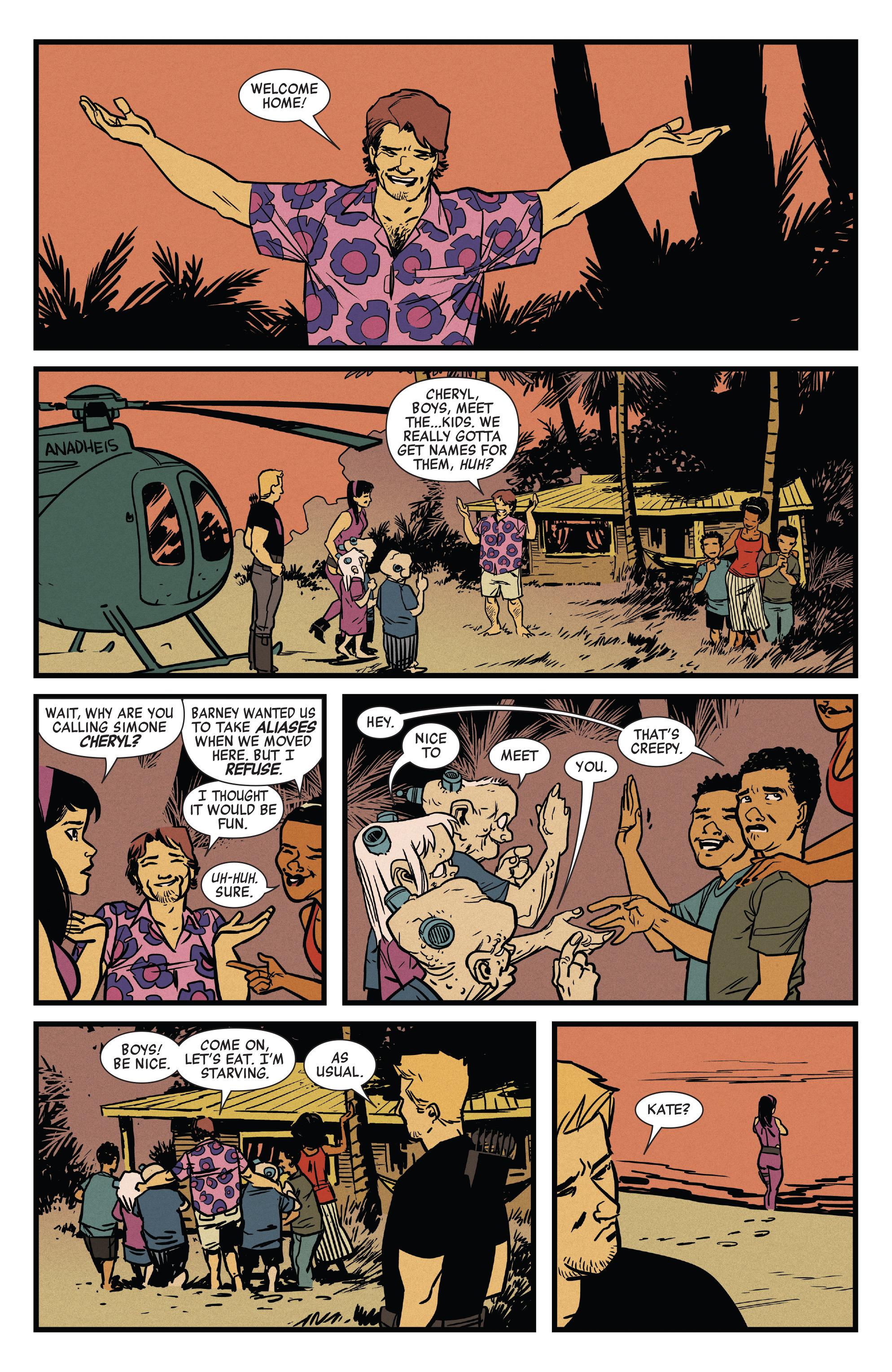Read online All-New Hawkeye (2016) comic -  Issue #6 - 16