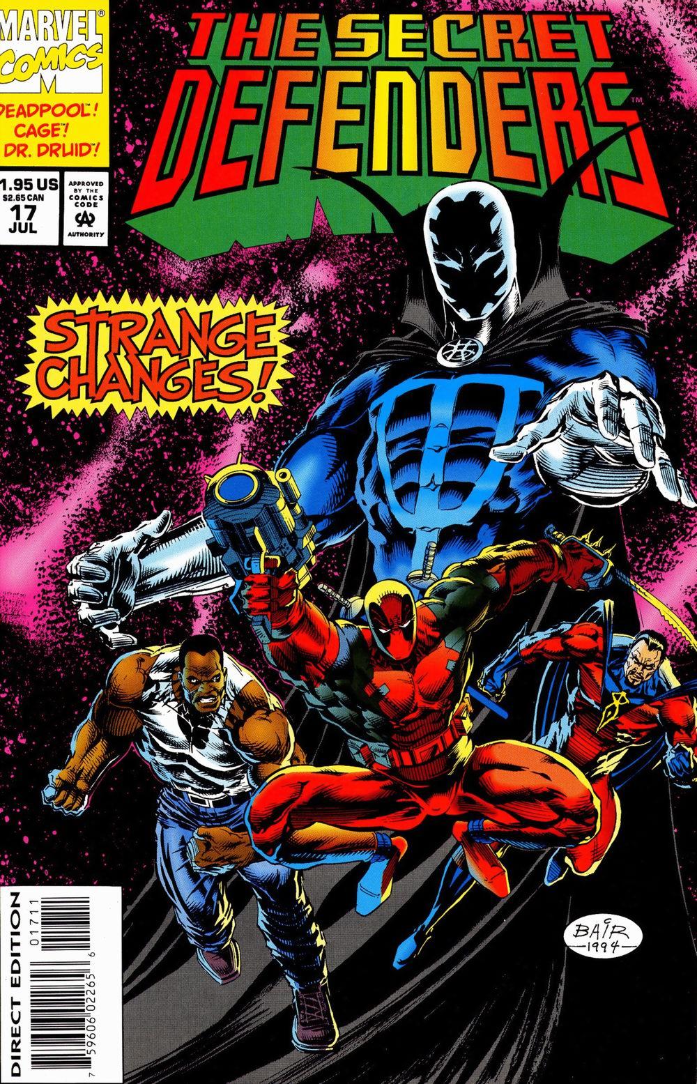 Read online Secret Defenders comic -  Issue #17 - 1