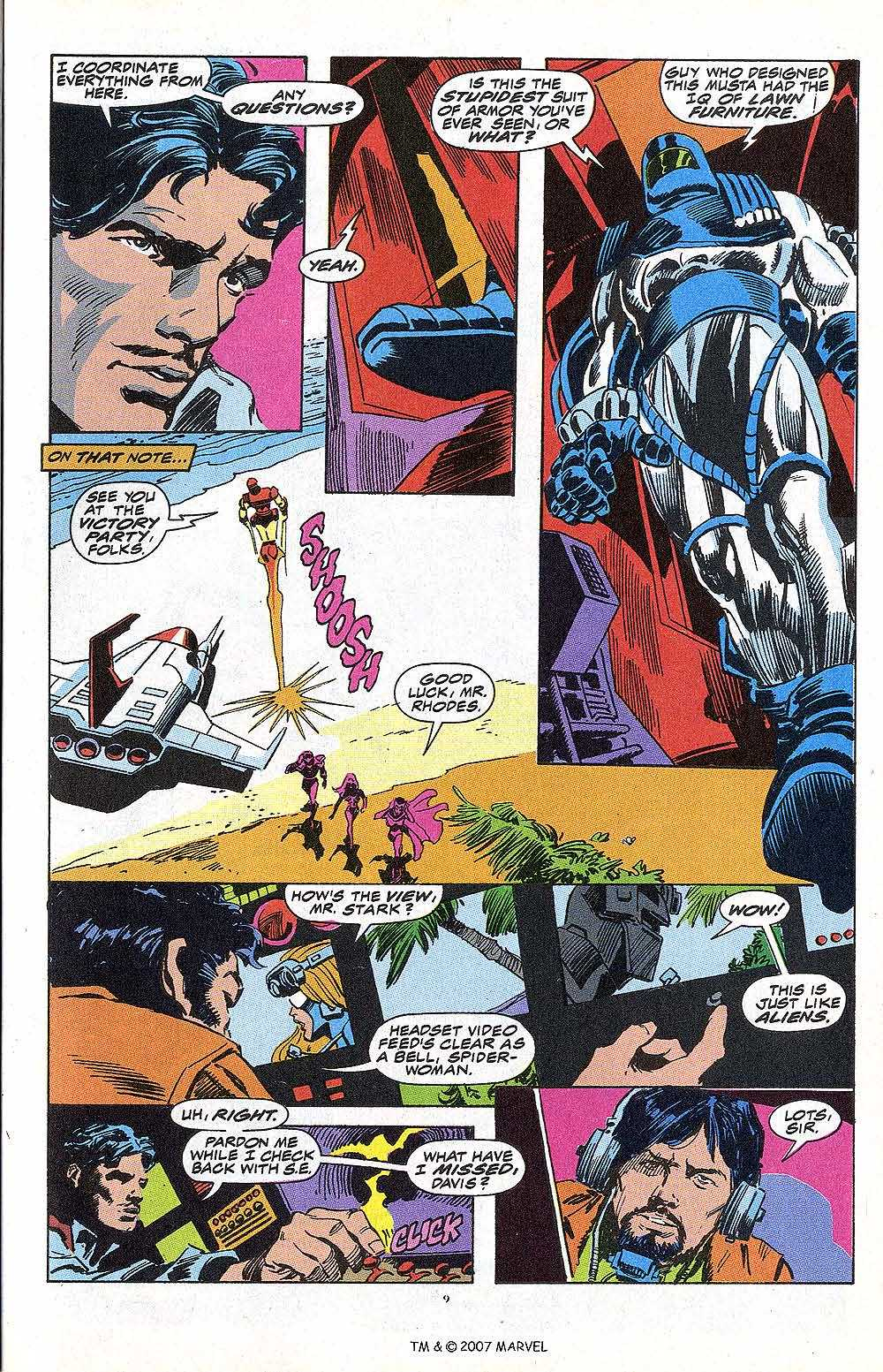 Iron Man Annual issue 13 - Page 11