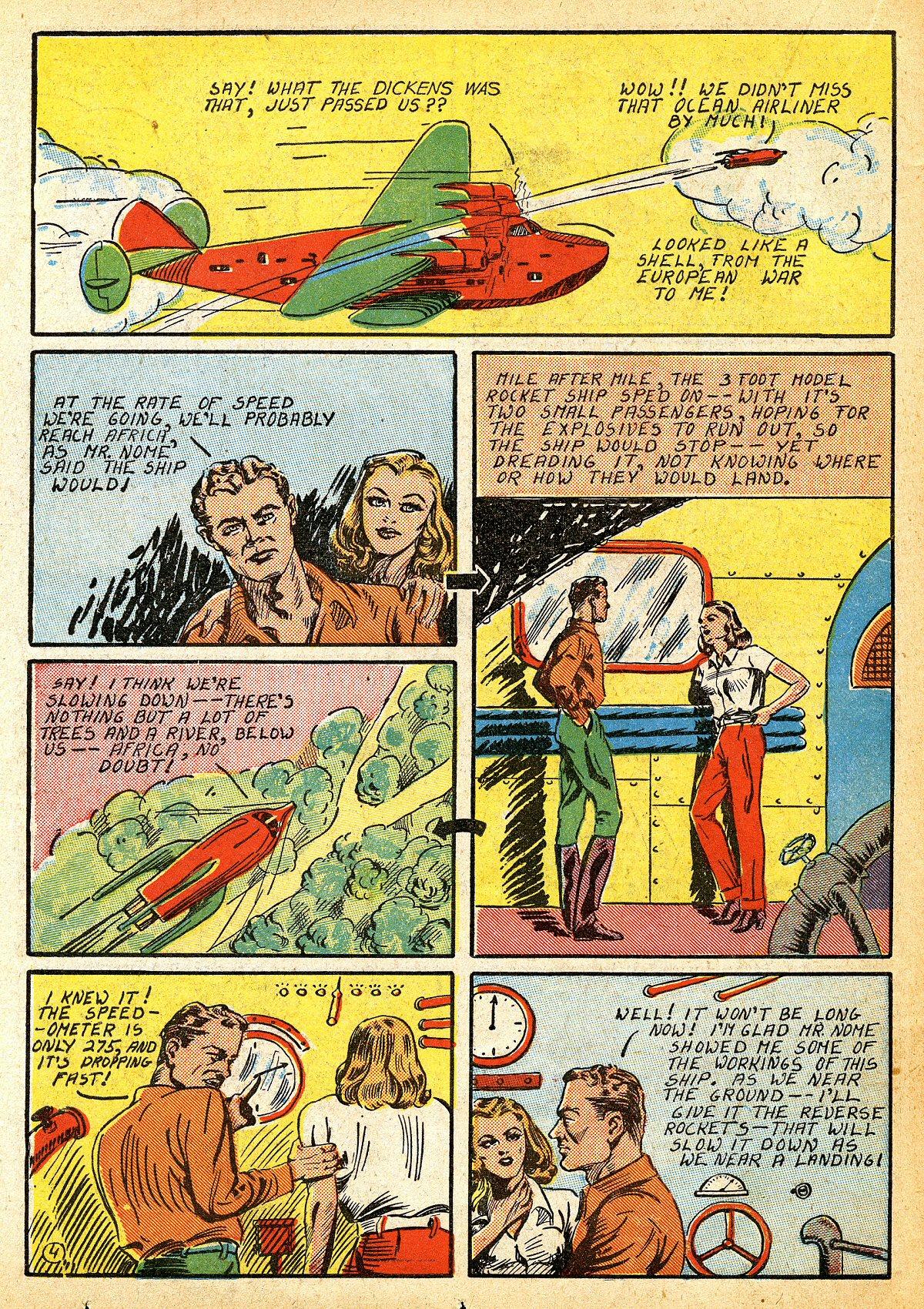 Read online Amazing Man Comics comic -  Issue #10 - 41