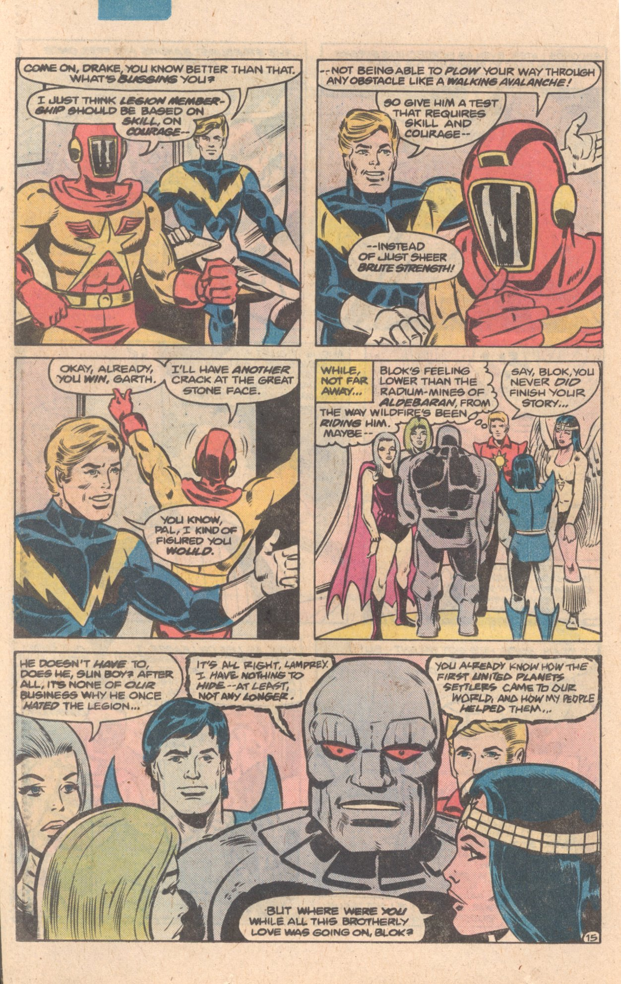 Legion of Super-Heroes (1980) 272 Page 15