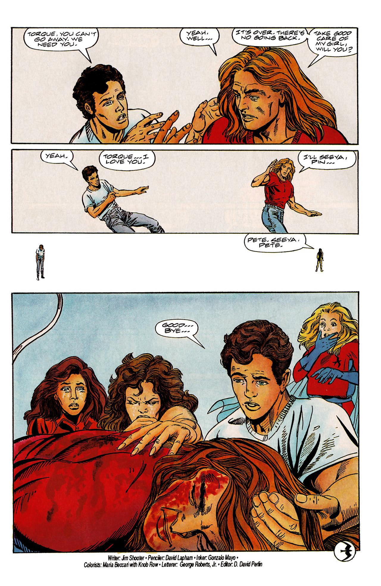 Read online Harbinger (1992) comic -  Issue #6 - 23