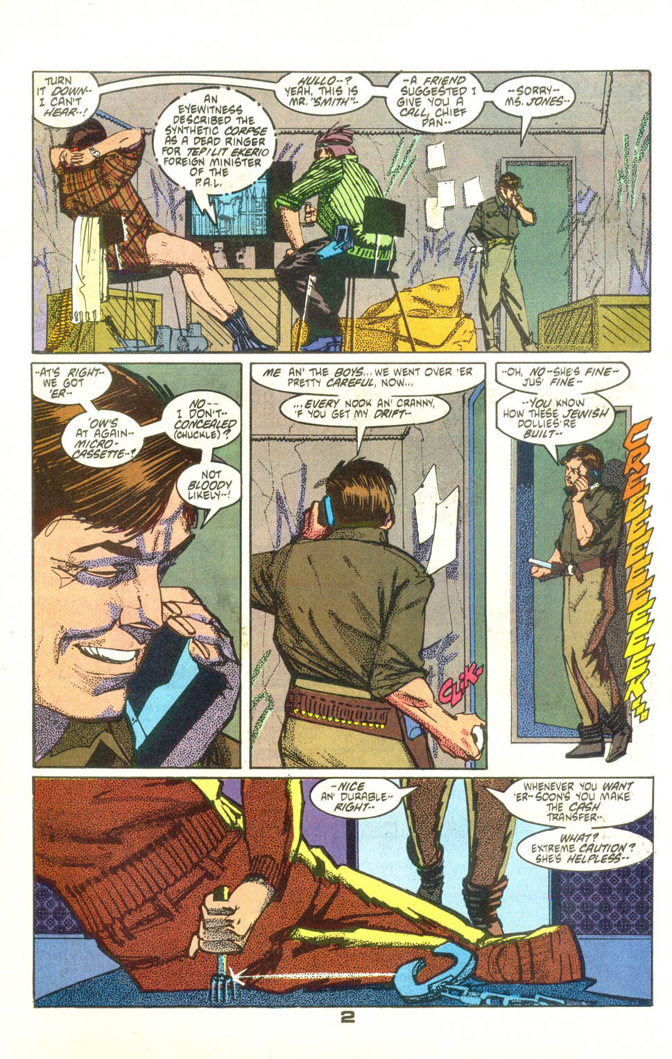 Read online American Flagg! comic -  Issue #25 - 3