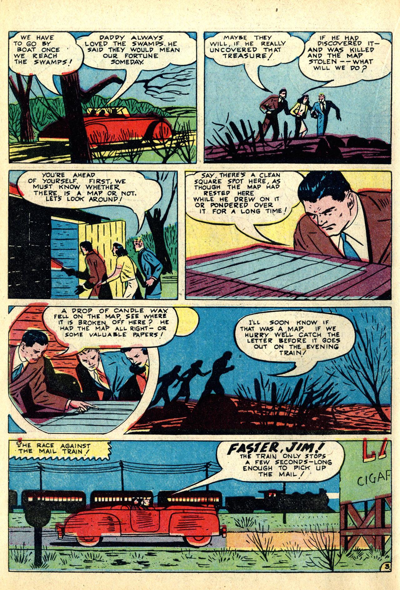 Read online Detective Comics (1937) comic -  Issue #50 - 54